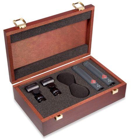 Neumann KM 185 Miniature Microphone - Stereo Set (Black)