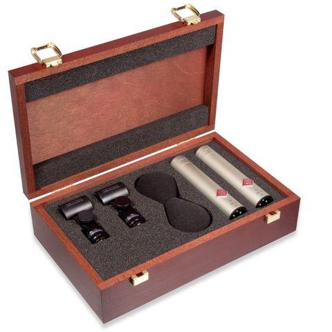 Neumann KM 185 Miniature Microphone - Stereo Set (Nickel)