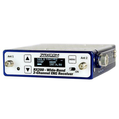 Zaxcom RX200 - Wide band Mono or Stereo Reciever