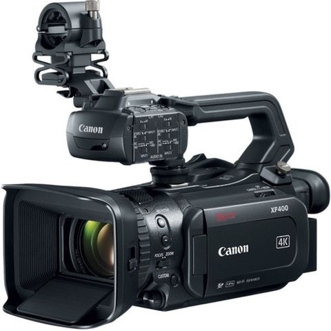 Canon XF400 Compact Pro Video 4K Camcorder