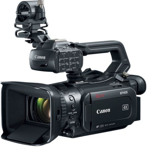 Canon XF405 Compact Pro Video 4K Camcorder
