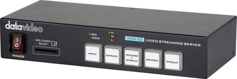 Datavideo NVS-33 H.264 Video Streaming Encoder & Recorder