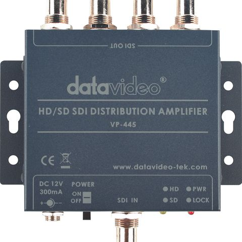 Datavideo VP-445 HD/SD-SDI Distribution Amplifier