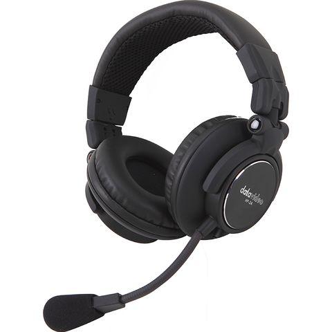 Datavideo HP-2A Dual-Ear Headset for ITC Intercom Systems