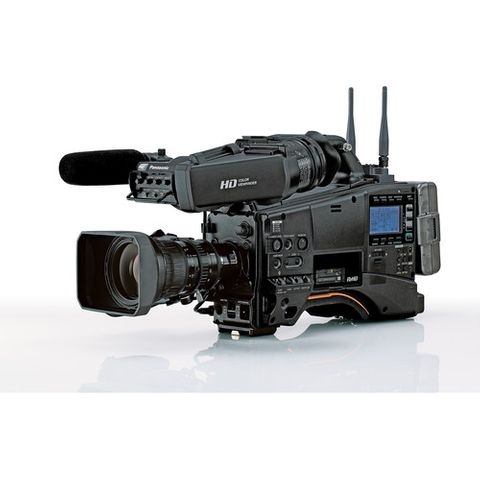 Panasonic AJ-PX380GF HD Camcorder with Lens and Viewfinder