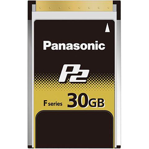 Panasonic AJ-P2E030FG 30GB F-Series P2 Memory Card