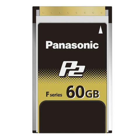 Panasonic AJ-P2E60FG 60GB F-Series P2 Memory Card