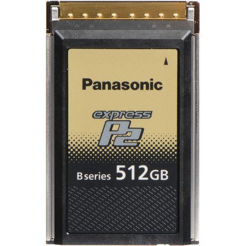 Panasonic AU-XP0512BG 512GB B Series expressP2 Memory Card