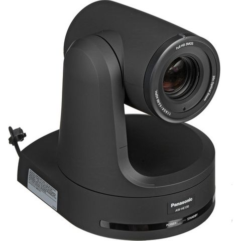 Panasonic AW-HE130KEJ8 PTZ Camera (Black)