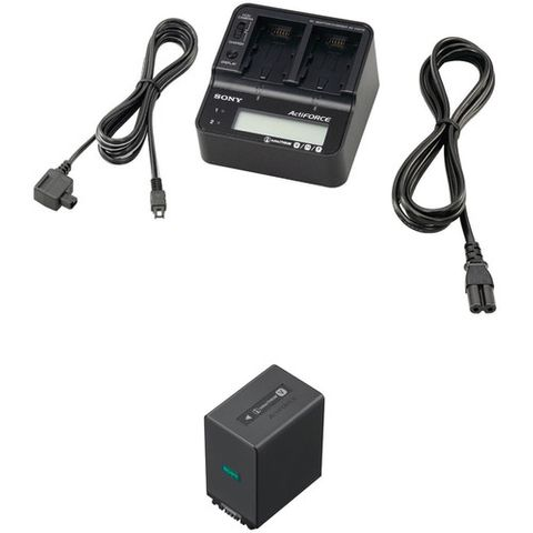 Sony ACCV1BPA AC Adaptor/Charger & Battery Kit