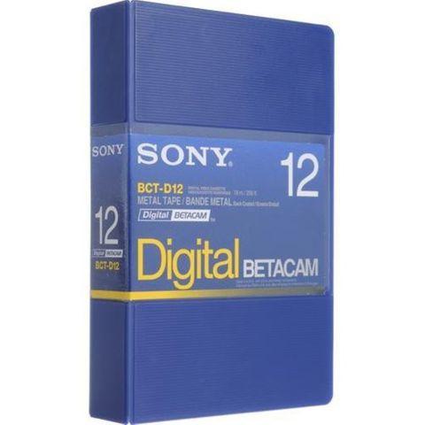 Sony BCT-D12 Digital Betacam Cassette