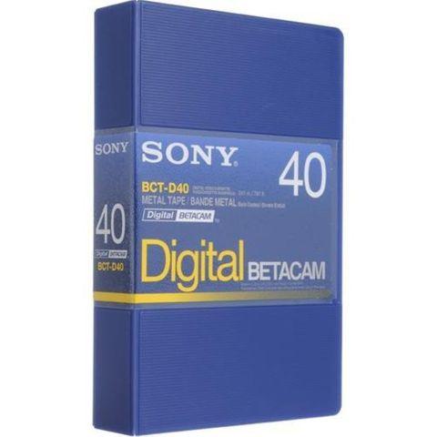 Sony BCT-D40 Digital Betacam Cassette