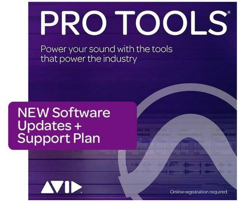 Avid Pro Tools Perpetual License with 1-Year Update/Support
