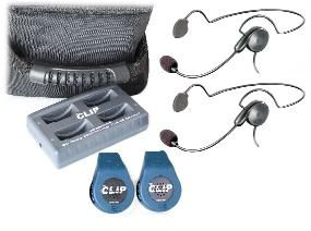 Eartec The CLIP Wireless 2 Person System -Cyber Headset