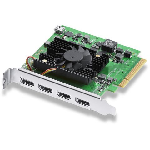 Blackmagic DeckLink Quad HDMI Recorder Capture Card