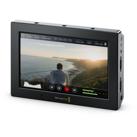 "Blackmagic Video Assist 4K 7"" HDMI/6G-SDI Recording Monitor"