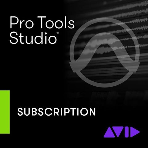 Avid Pro Tools 1-Year Subscription Licence - New