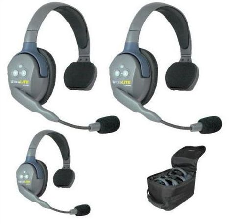 Eartec UltraLITE Wireless 3 Person Systems