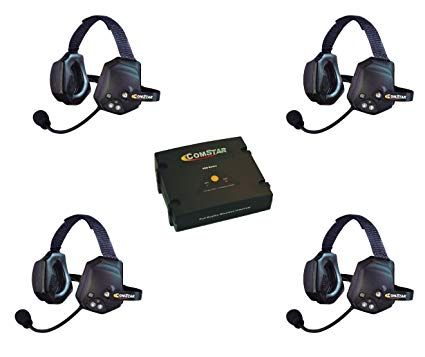 Eartec COMSTAR 4 Person XTreme Full Duplex Wireless System