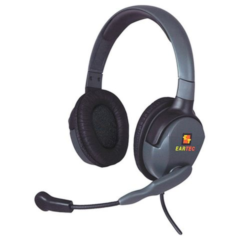 Eartec Max4G Double Headset for Compak Belt Pack