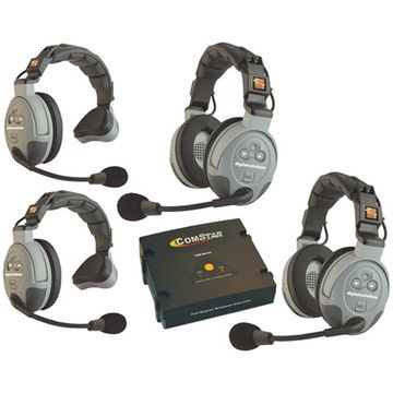 Eartec COMSTAR XT 4 Person Full Duplex Wireless System