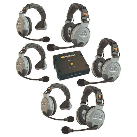 Eartec COMSTAR 6 Person Full Duplex Wireless Intercom System