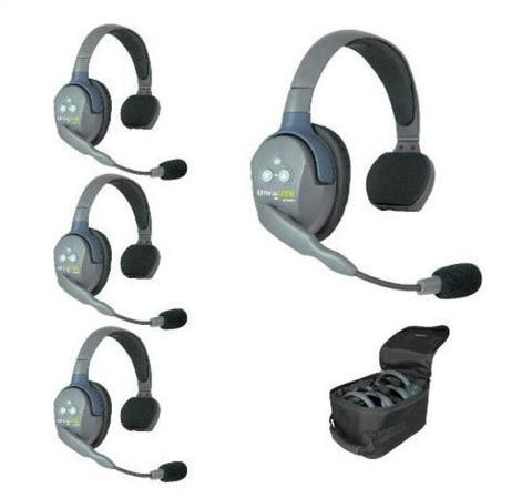Eartec UltraLITE Wireless 4 Person Systems