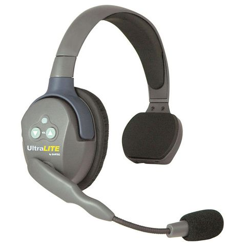 Eartec UltraLITE Single Master Headset w/ Lith. Battery
