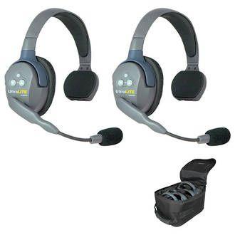 Eartec UltraLITE Wireless 2 Person System