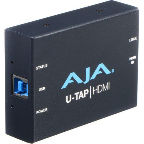 AJA U-TAP USB 3.0 Powered HDMI HD/SD Capture Device