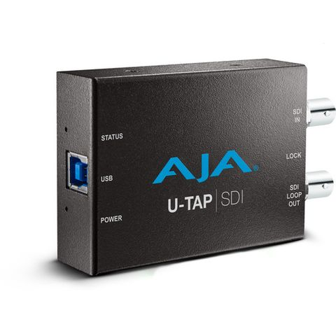 AJA U-Tap SDI USB3.00 Powered 3G-SDI Capture card