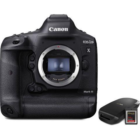 Canon EOS-1D X Mark III DSLR Camera Bundle