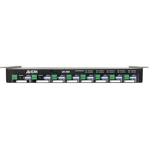 Aviom AV-M8 Eight-Channel Mic Input Module for Pro16 A-Net