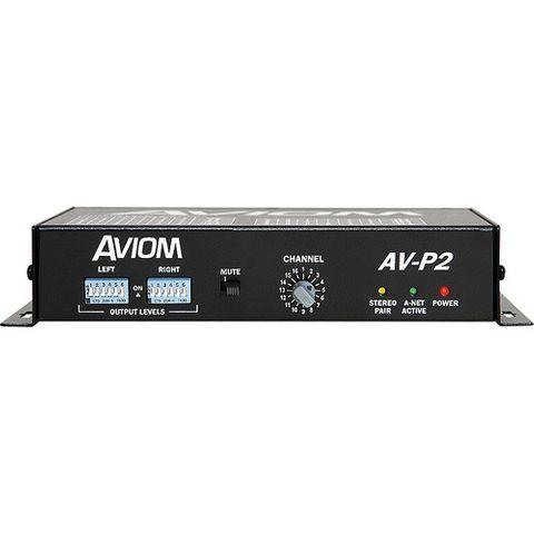 Aviom AV-P2 Two-Channel Output Module for Pro16 A-Net System