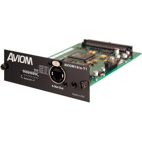 Aviom 16/o-Y1 A-Net Card for Yamaha Digital Products