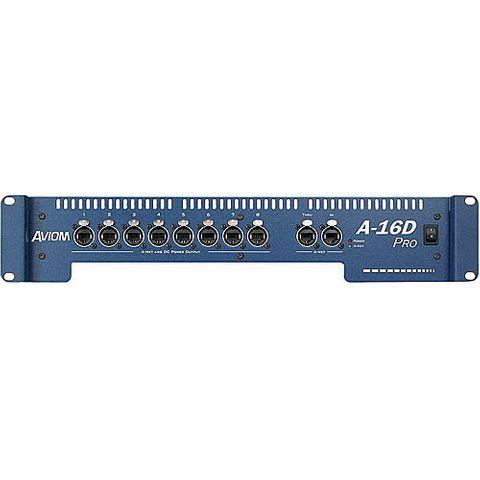 Aviom A16DPRO - 8-Port Rackmount A-NET Audio Distributor