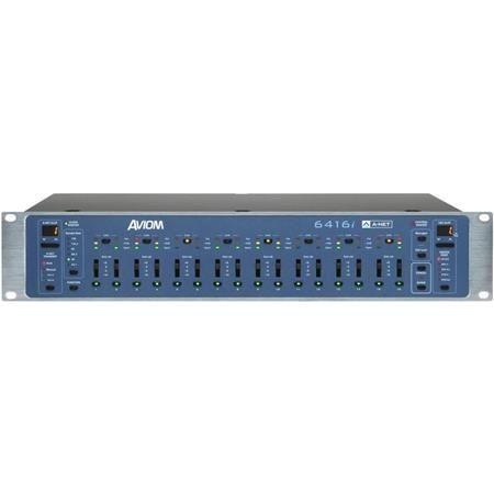Aviom 6416i 2U 16-Channel Line-Level Input Module