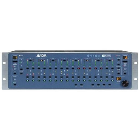 Aviom 6416m 16-Channel Remote Controllable Mic Input Module