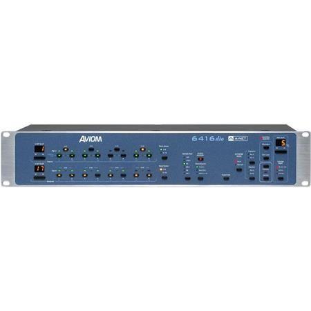 Aviom 6416dio 2U 16-Channel AES3 Digital I/O Module
