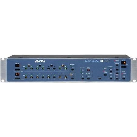 Aviom 6416dio 2U 16-Channel AES3 Digital I/O Module (BNC)