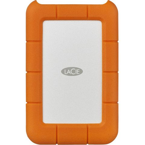 LaCie 2TB USB 3.1 Gen 1 Type-C Rugged Portable Hard Drive