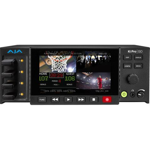 AJA Ki Pro GO Portable Multichannel H.264  Recorder/Player