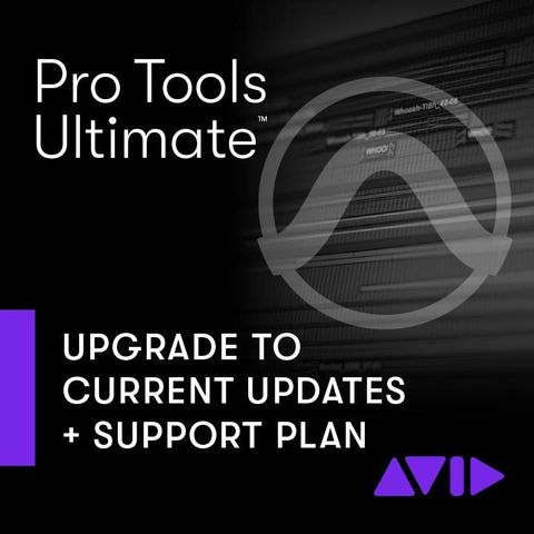 Avid Pro Tools Ultimate Software Update & Support - Renewal