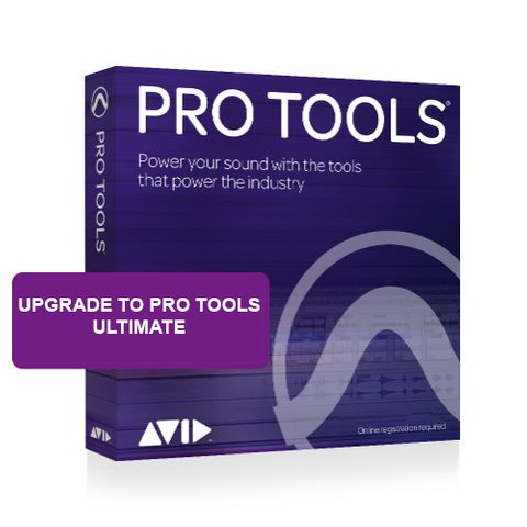 Avid Pro Tools to Pro Tools Ultimate Software Upgrade