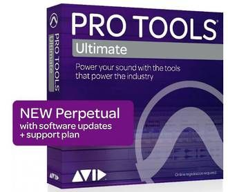 Avid Pro Tools Ultimate Perpetual License - NEW