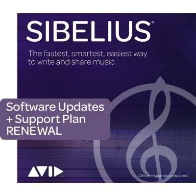 Avid Sibelius 1-Year Software Updates + Support Plan RENEWAL