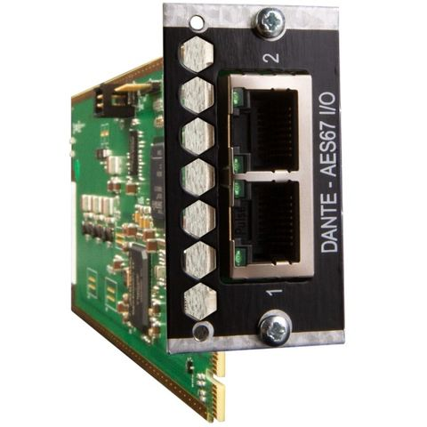 Avid Pro Tools | MTRX 128 Channel IP Audio Dante Card