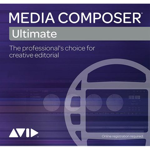 Avid Media Composer | Ultimate 1-Year Subscription RENEWAL