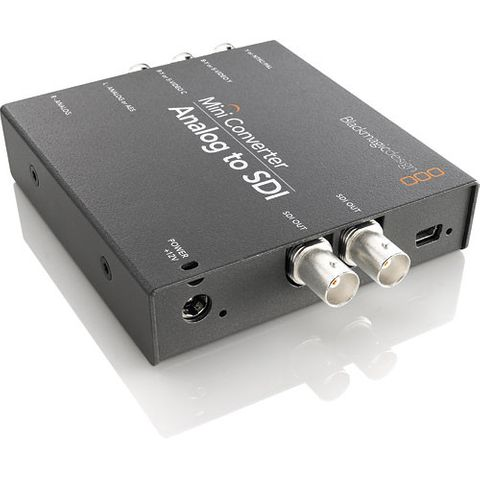 Blackmagic Mini Converter - Analog to SDI 2 Converter