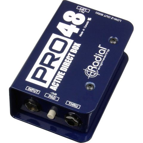 Radial Pro48 Active Direct Box